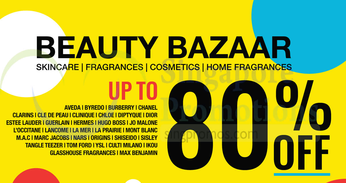 28f57f9b1c BeautyFresh beauty warehouse sale – up to 80% off! From 2 – 4 Aug 2018