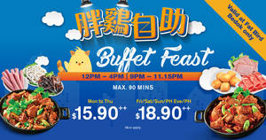 Featured image for Buffet Feast from $15.90++ at Fat Bird (Bedok) from 1 Aug – 30 Sep 2018