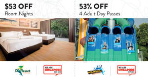 Featured image for Save at Downtown East – Wild Wild Wet, D'Resort & more with these coupons valid up to 31 Aug 2018
