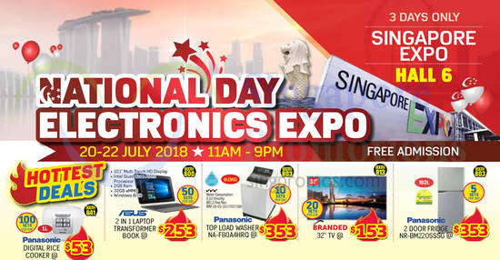 National Day Electronics feat 16 Jul 2018