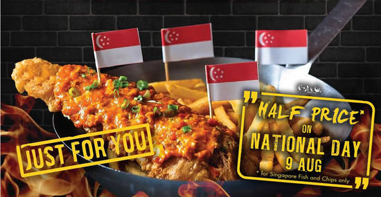 Fish co offers 50 off singapore fish and chips for one day only fish co offers 50 off singapore fish and chips for one day only on 9 aug 2018 reheart Gallery
