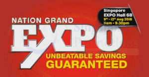 Featured image for Harvey Norman Nation Grand Expo at Singapore Expo from 9 – 12 Aug 2018