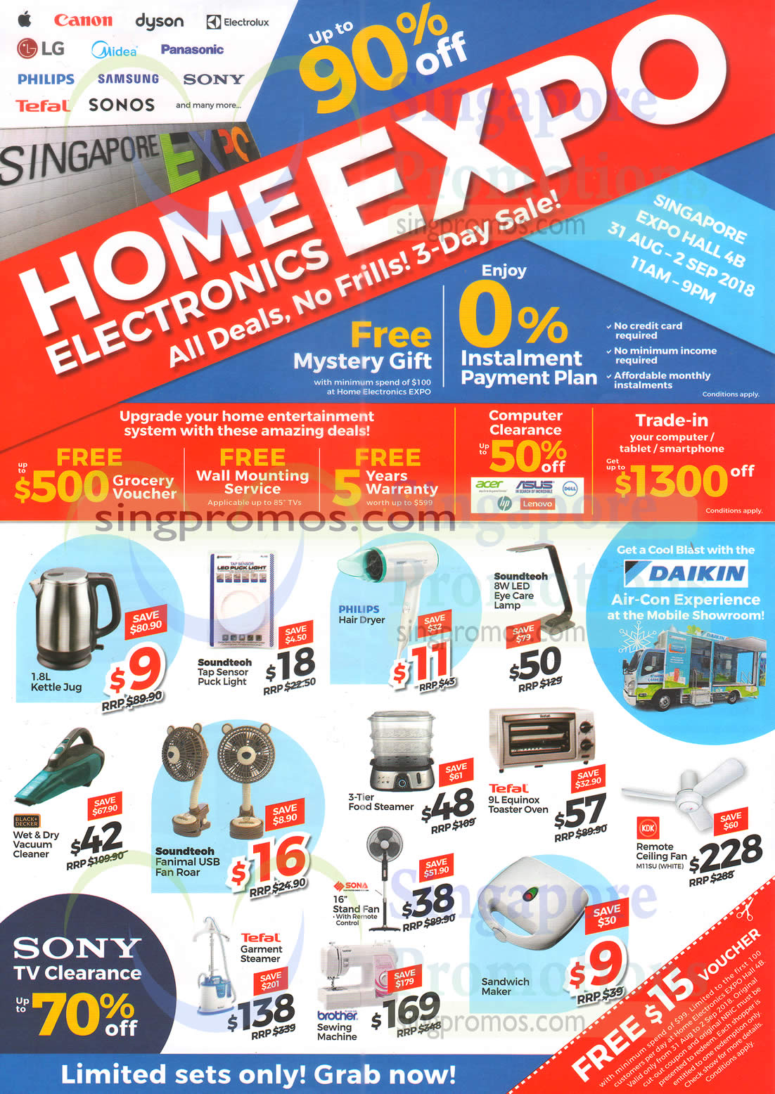 Home Electronics EXPO by Megatex from 31 Aug – 2 Sep 2018