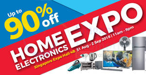 Featured image for Home Electronics EXPO by Megatex from 31 Aug – 2 Sep 2018
