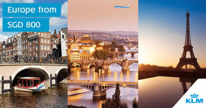 KLM Royal Dutch Airlines Autumn Hot Picks from $800 all-in return! Book by 23 Aug 2018