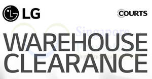 Featured image for LG up to 60% off warehouse clearance sale till 19 Aug 2018