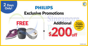 Philips roadshow at SAFRA Toa Payoh from 11 – 12 Aug 2018