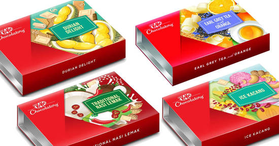 Featured image for New KITKAT Chocolatory Special Editions - Durian Delight, Traditional Nasi Lemak & more now available at Redmart