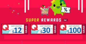Featured image for Qoo10's Super Sale is back – grab $12, $30 & $100 cart coupons! Valid till 30 Sep 2018