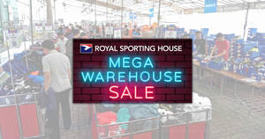 7b57e48cc9 Royal Sporting House up to 80% off warehouse sale from 28 Nov – 2 Dec 2018
