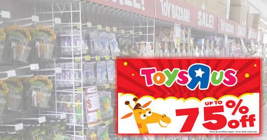 Toys R Us feat 13 Sep 2018