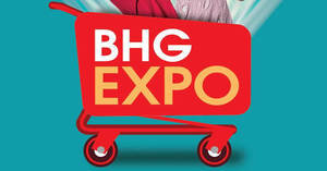 BHG Expo sale with discounts of up to 75% off from 13 – 16 Dec 2018