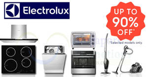 Electrolux up to 90% off Swede Warehouse Sale from 20 – 21 Oct 2018