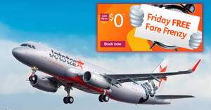 Jetstar Airways: $0 fares to Jakarta, Melbourne and more for one-day only on 19 Oct 2018