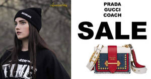 LovethatBag Prada, Gucci, Kate Spade and Coach sale on 17 Nov 2018