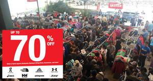 Outdoor Venture: Warehouse sale featuring up to 70% off The North Face, Patagonia & more from 25 – 28 Apr 2019