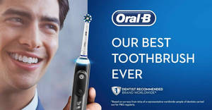 Featured image for 24hr deal: 72% off Oral-B Genius 9000 CrossAction electric rechargeable toothbrush! Ends 3 Dec 2018