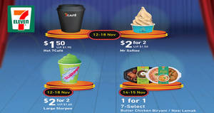 7-Eleven: Enjoy deals on Slurpee, Mr Softee and more from 12 – 18 Nov 2018