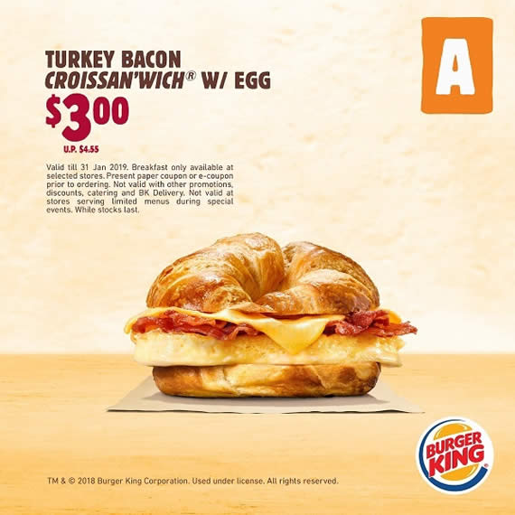 Burger king online coupons 2019