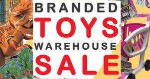 Henderson Toys warehouse sale returns from 22 Nov – 24 Dec 2018 (Thurs – Sun)