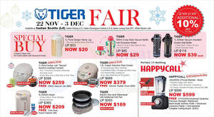 Isetan's Tiger Fair to return with discounts of up to 70% off from 22 November to 3 December 2018