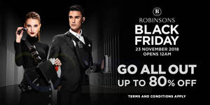Featured image for Robinsons one-day Black Friday promotion offers discounts of up to 80% off on 23 November 2018