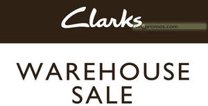 Clarks up to 50% OFF footwear warehouse sale from 15 – 16 Dec 2018