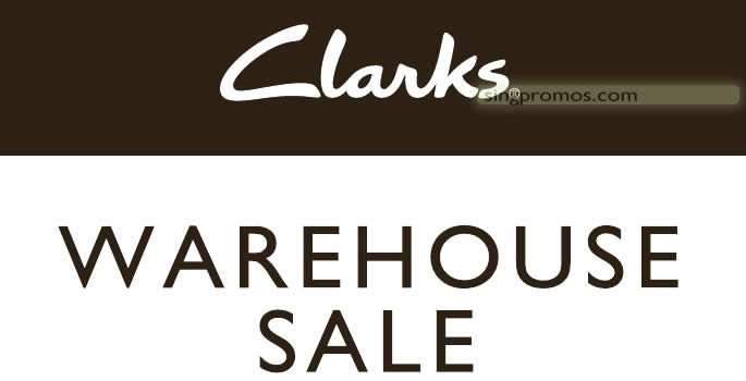 7d2312ee4a3b Clarks up to 70% OFF footwear warehouse sale from 27 – 28 Apr 2019