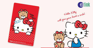 EZ-Link to release new Hello Kitty ez-link card from Tuesday, 11 Dec 2018