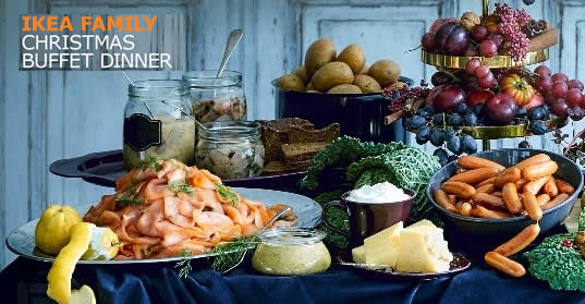 Ikea S Christmas Buffet Dinner 2018 Tickets Now Available From 10
