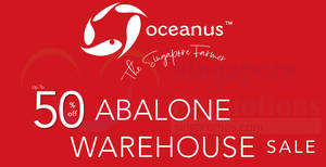 Oceanus abalone warehouse sale (Up to 50% Off) on 18 January 2019