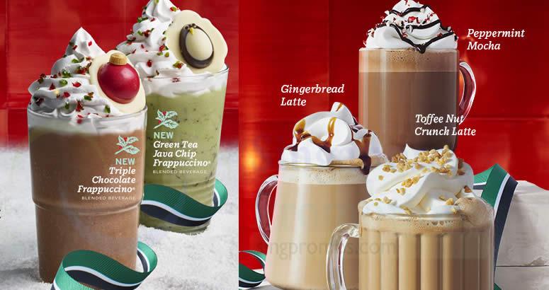 Christmas Starbucks Drinks.Starbucks To Offer 50 Off Christmas Drinks On Thursday 6