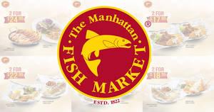 The Manhattan FISH MARKET releases 1-for-1 ecoupon deals valid till 31 Jan 2019