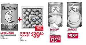 Cold Storage: New Moon / Skylight abalone & other CNY offers valid till 24 Jan 2019