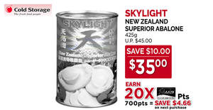 Cold Storage: New Moon / Skylight abalone & other CNY offers valid till 27 Jan 2019