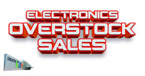 Electronics Overstock Sale at Singapore Expo from 18 – 20 Jan 2019