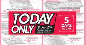 Featured image for Fairprice 31 Jan ONE-DAY deals: Golden Chef New Zealand Superior Wild Abalone, Emerald Frozen Canada Scallop Meat & more