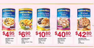 Featured image for Fairprice: Golden Chef Abalone, New Moon New Zealand Abalone & other CNY offers valid up to 13 Feb 2019