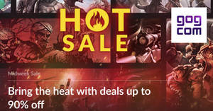 GOG.com Hot Sale brings sizzling deals up to 90% off till 30 Jan 2019