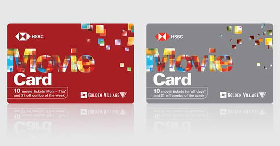 Featured image for Golden Village: Enjoy savings on standard and Gold Class tickets with HSBC's Movie Card