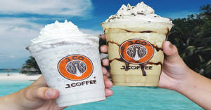 Featured image for J.CO Donuts & Coffee is offering 1-for-1 beverages on weekdays 3pm to 5pm at all outlets from 13th – 30th August 2019