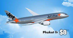 Jetstar is offering fares to Phuket fr $8^++ one way! Book by 16 January 2019, 10am