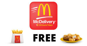 Here are the LATEST McDelivery codes for free McNuggets, Large Fries & more valid till 24 Feb 2019