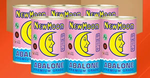 New Moon New Zealand Abalone 425g x 6 cans for $199 (~$33.20 each) with free shipping from 24 Jan 2019