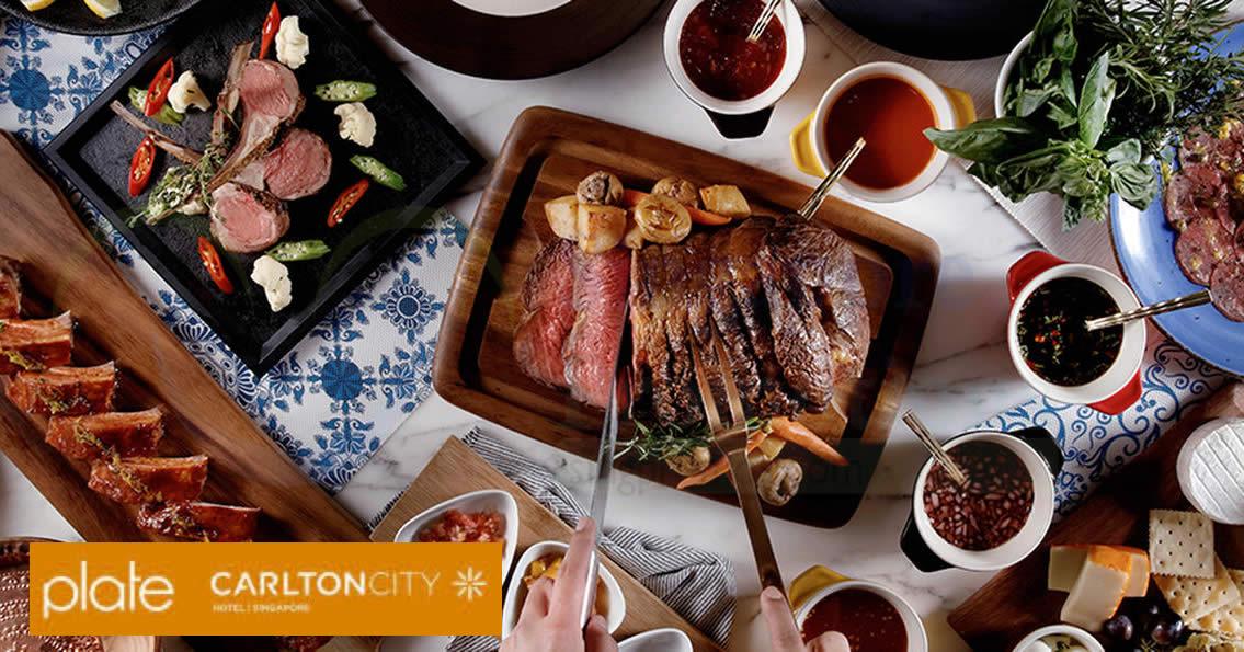 "Plate, Carlton City Hotel: 1-for-1 ""Meat on Thursdays ..."