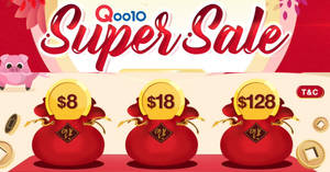 Qoo10 2019 Chinese New Year Super Sale – grab $8, $18 & $128 cart coupons! Valid till 27 Jan 2019