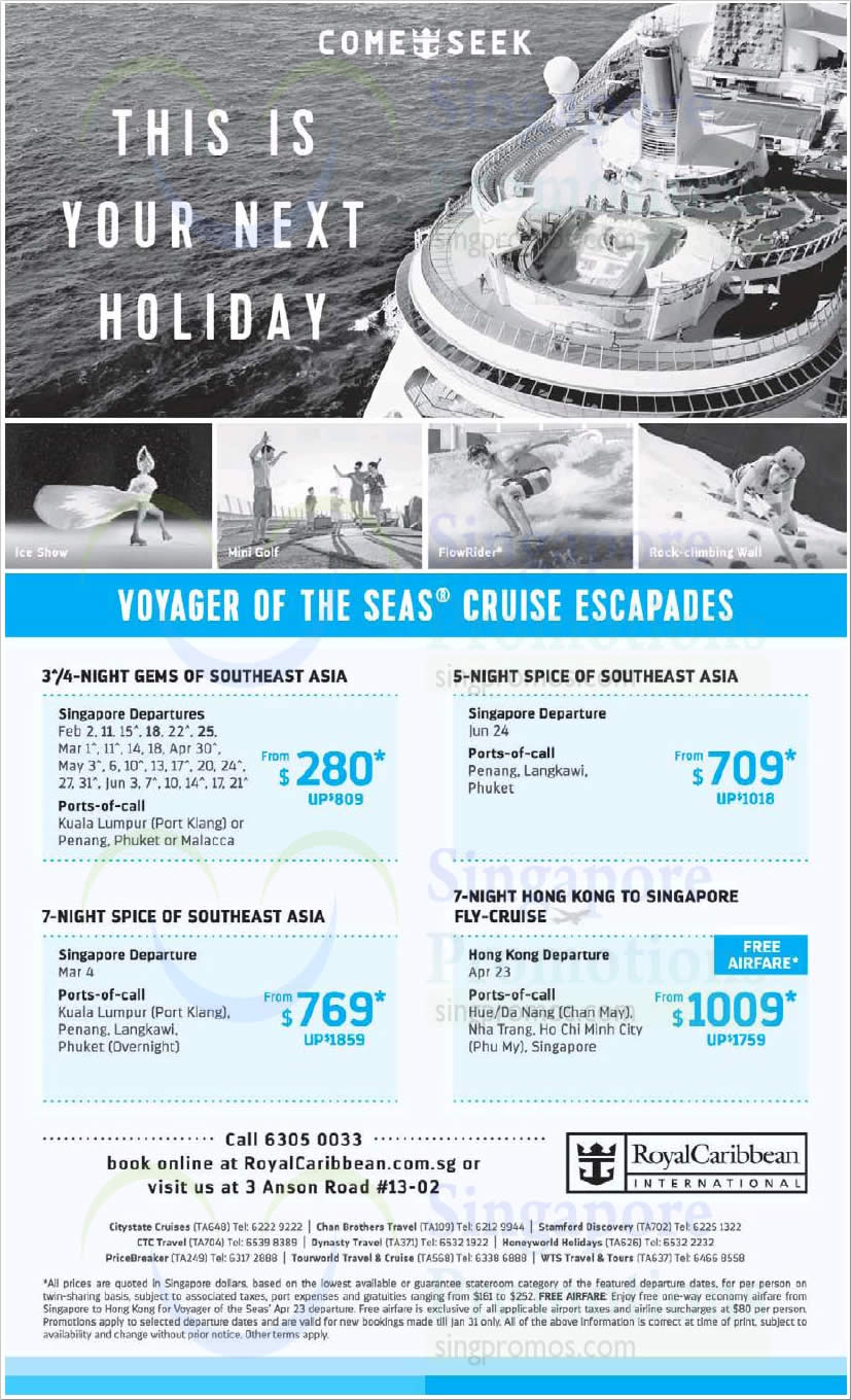 Citibank Online Sign In >> Royal Caribbean is offering cruises fr $280 (U.P. $809) from 29 Jan 2019