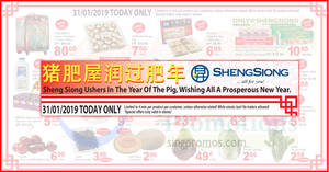 Featured image for Sheng Siong ONE-day deals on 31 Jan: 52% off Ferrero Rocher, 62% off Ribena & more!