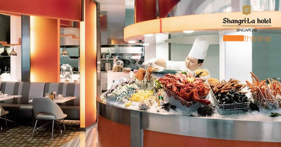 Featured image for The Line at Shangri-La Hotel: 1-for-1 lunch/dinner buffet on Mondays with DBS/POSB cards till 29 June 2020