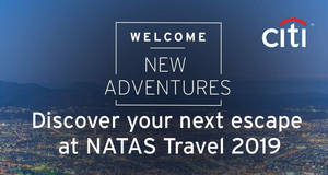 Citibank: Spend & redeem luggages & more at NATAS 2019 from 22 – 24 Feb 2019